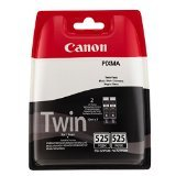 4x Canon PGI-525 Inkjet Cartridge Page Life 656pp Black Ref 4529B006 [Twin Pack]