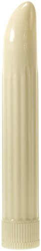 Price comparison product image Minx Sensuous Ribbed Vibrator, 6 Inch, White