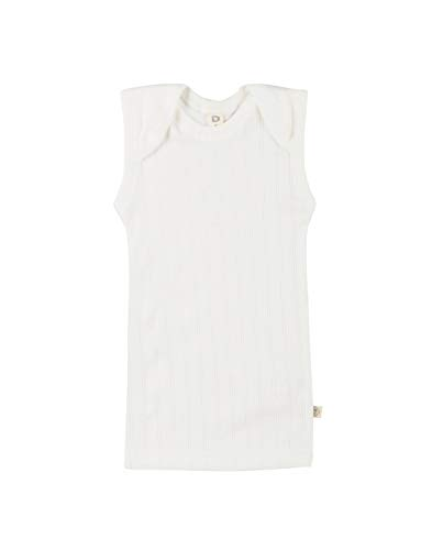 Dilling Baby Unterhemd aus 100% Bio-Baumwolle Weiß 86 -