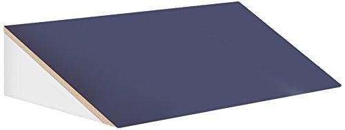 Salsbury Industries 33354blu 91,4cm breit schräge Kapuze für 53,3cm tief Designer Holz Locker, blau