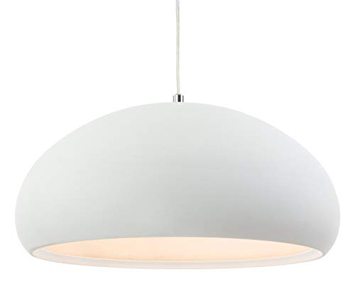 Firstlight 2308CN Costa Pendelleuchte, E27,Edison-Schraube, 60W, rauher Beton Sand White