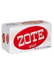 Zote Laundry Soap Bar Pink 14.1 Oz (4 Pack)