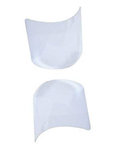 2er Set Visiere für Sturmhaube Maske Schutz- Sandstrahlen Express Maske