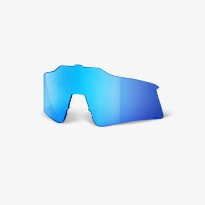 100 Percent SPEEDCRAFT SL Replacement Lens-Hiper Blue Multilayer Mirror Lentes DE Repuesto, Hombres, Azul, Mediano