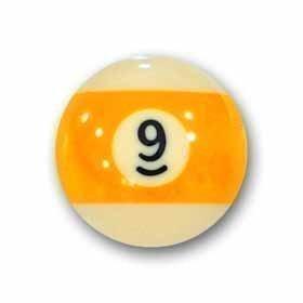 "Billardkugel Nr. 9 Pool-Ball ""Favorite"" Nr. 9"