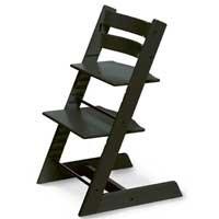 Preisvergleich Produktbild Stokke 100103 - Kinderstuhl / Hochstuhl Tripp Trapp, schwarz
