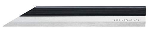 WABECO Haarlineal 200 mm DIN 874/00 INOX