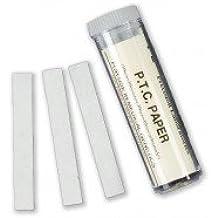 Selfcontrol / CD 265 D 01 / Feniltiocarbamida PTC 100 tiras de prueba + 100 tiras reactivas de control - sencillo - rápido - preciso