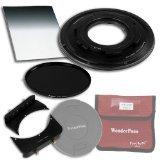 WonderPana 66 FreeArc ND 0.6SE Kit Essentiel - Rotatif Porte-filtre, Bouchon d'Objectif, et Filtres Fotodiox Pro 6.6