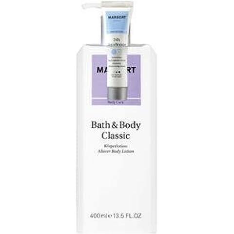 Marbert cuidado bath & body loción corporal + incluye 24 horas Aqua Booster 15 ML 400 ml