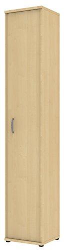Ahorn Türen (Wellemöbel, Büro Combi+, Anbauteil, 6 Ordnerhöhen 72862201, Ahorn)