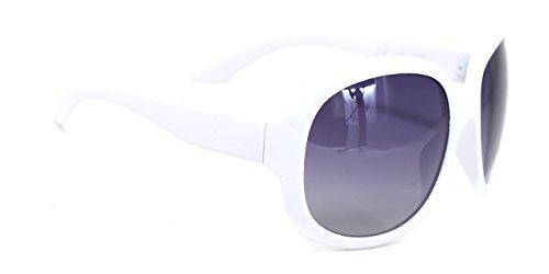 TIJN Damen Sonnenbrille, weiß, 10021503