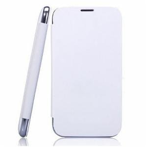 Generic Flip Cover Case For MICROMAX CANVAS A120 (White)