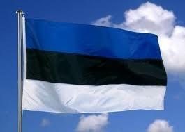 Flagge Material (5ft x 3ft Estland Estnisch Material Flagge)
