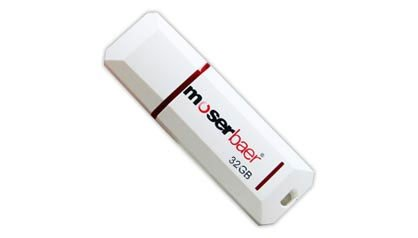Moserbaer Knight USB 2.0 32GB Pen Drive (Red & White)