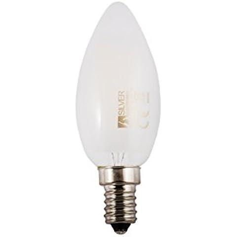 Leuchtmittel LED Filament Kerze matt 3W E143000K