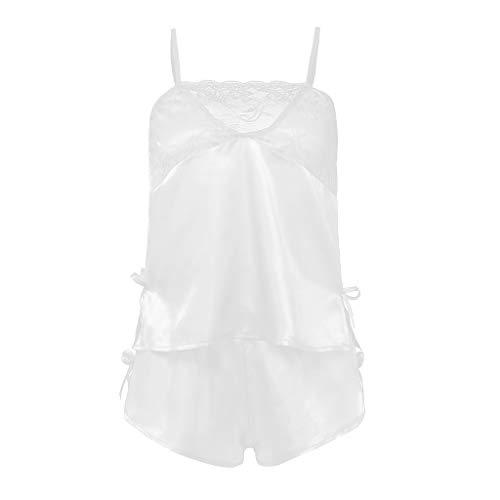 Erotische Kostüm Größe Plus - Zolimx Nachthemd Damen, 2PC Frauen Spitze Sexy Passion Dessous Babydoll G-String Plus Größe Nachtwäsche Set