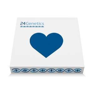 24Genetics - DNA Test di Salute - +250 Reports - test genetici per la prevenzione delle malattie e la medicina personalizzata - Comprende Kit di DNA - rapporto ora disponibile in italiano