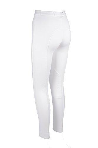 REITEN DAMEN WEICH DEHNBAR REITHOSEN/REITHOSE JODS WEIß - Blanc, Coton & spandex, 44/86cm (Avon Damen-bekleidung)