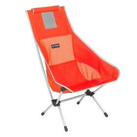 Helinox Chair Two,Campingstuhl,Faltstuhl,Aluminium,leicht,stabil,faltbar,inkl Tragetasche,Crimson,one Size