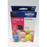 BROTHER COLOR INKJET MAGENTA CARTRIDGE LC 450XL M