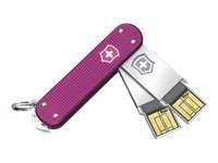 2.0 Rosada Victorinox Delgado Duo 2X 64GB Speicherstick USB