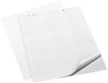 Flipchart-Block, 68 x 99 cm, blanko, 20 Blatt Aus holzfreiem Papier, 80 g/qm. Universallochung. Block mit 20 Blatt, gerollt.