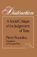 Distinction: A Social Critique of the Judgement of Taste (Polity Short Introductions)