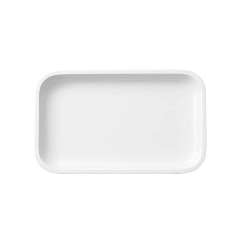 Villeroy & Boch Clever Cooking Plat de service rectangulaire, 26 x 16 cm, Porcelaine Premium, Blanc