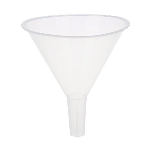 Filtertrichter - TOOGOO(R) 120ml 4 9/10 Mund Dia Labor Reinweiss Kunststoff Filtertrichter