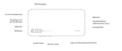 Xiaomi Mi 9 Lite 128GB Handy, blau, Not Just Blue, Android 9.0 (Pie)