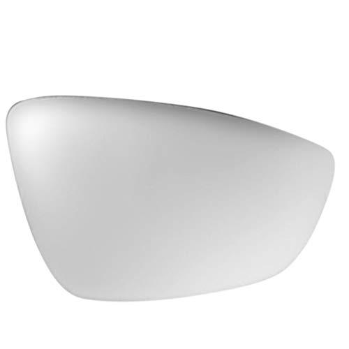 Zerama Remplacement pour Sagitar 2012 3C8857522 16D857522 Blanc côté Droit extérieur Vue arrière rétroviseur en Verre Miroir