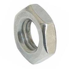 METRIC MILD STEEL HEXAGON LOCK NUTS (SELF COLOUR) M14 (PACK OF 10)