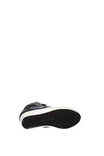 PFHDML45 Philippe Model Sneakers Femme Cuir Verni Noir Noir