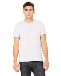 Unisex Made in the USA Jersey Short-Sleeve T-Shirt SILVER M