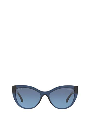 Chanel Luxury Fashion Damen CH5409C508S2 Blau Sonnenbrille | Frühling Sommer 19 -