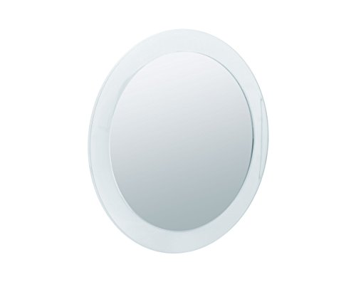Sanwood 6650900.0 Nelly Kosmetikspiegel 5-fach Vergrößerung Aufsatzspiegel mit Saunäpfen und...