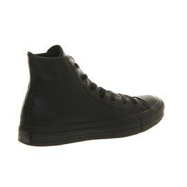 Converse  Ct Core Lea Hi,  Sneaker unisex adulto Nero(Schwarz)