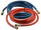 Langley Fitted Hose set - 3/8 x 5m Oxygen / accetylene hoses