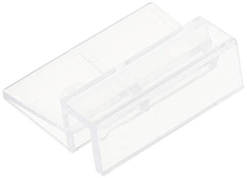 sourcingmap Kunststoff Aquarium Tank 10mm Dicke Glas Abdeckung Halter Cliphilfe klar de