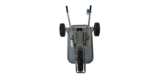 Motorschubkarre Elektroschubkarre E-PowerBarrow Heavy Duty 100l - 5