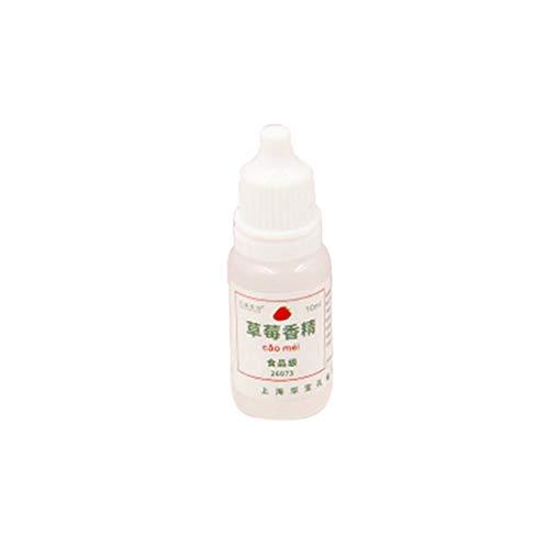 zrshygs Schleim Lippenstift Ton Handgemachte Seife Material DIY Schleim Versorgung Duft Kristallschlamm Essenz Duft Lösung Erdbeere 1 Stück -