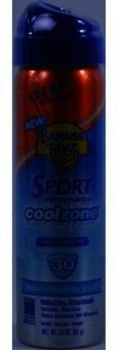 Banana Boat Sport Cool Zone SPF30 Clear UltraMist Case by Banana Boat