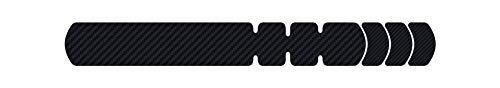 Lizard Skins Rahmenschutz für Erwachsene, Unisex, Schwarz, Einheitsgröße - Lenkerband Lizard Skins