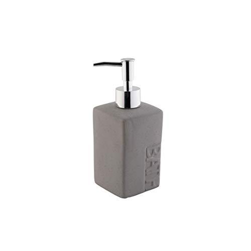 Axentia Bath Dispenser di Sapone, Dolomite, Grigio, 7,2 x 18,2 x 7,2 cm