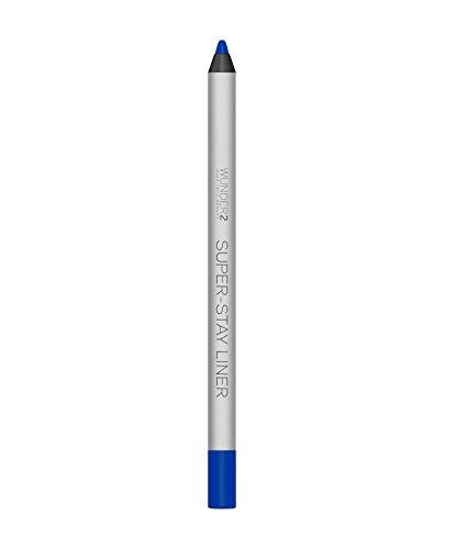 WUNDER2 SUPER-STAY LINER - Crayon Yeux Coloré, Waterproof & Longue Tenue - Ultra Pigmenté, Texture Crémeuse, Tenue 24H, Teinte Essential Royal Blue