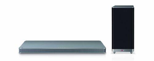 LG LAP440 4.1 Sound Plate mit kabellosem Subwoofer (320 Watt, Bluetooth) silber Lg Surround-sound-systeme