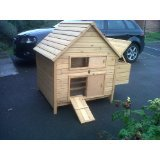 CHICKEN Haus für 6 Hennen. auch für Enten ! reizende Art und leicht zu reinigen ! Schnelle versand!
