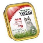 Yarrah Adult Cat Beef Chunks with Parsley & Thyme Bio 16x100 g