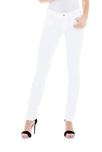 Salsa - Push up dünne farbige Wonder Hose - Damen Weiß